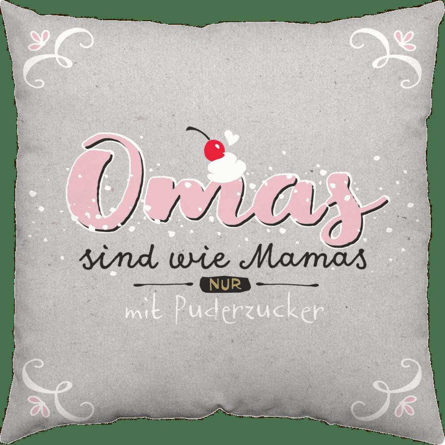 Geschenk für Oma zum 80. Geburtstag - Kissen Oma