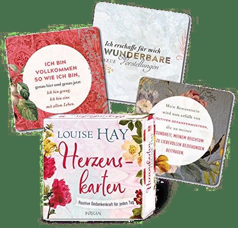 Herzenskarten - Geschenk Frau 75 Jahren