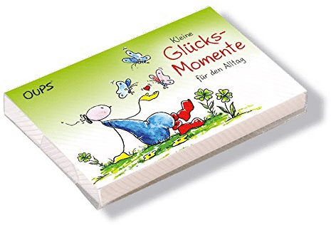 Kärtchenbox Glücksmomente - Inspirierendes Geschenk