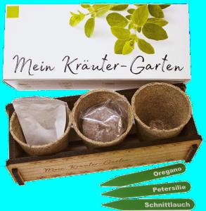 Kräuter Garten-Geschenk zum 75 Geburtstag
