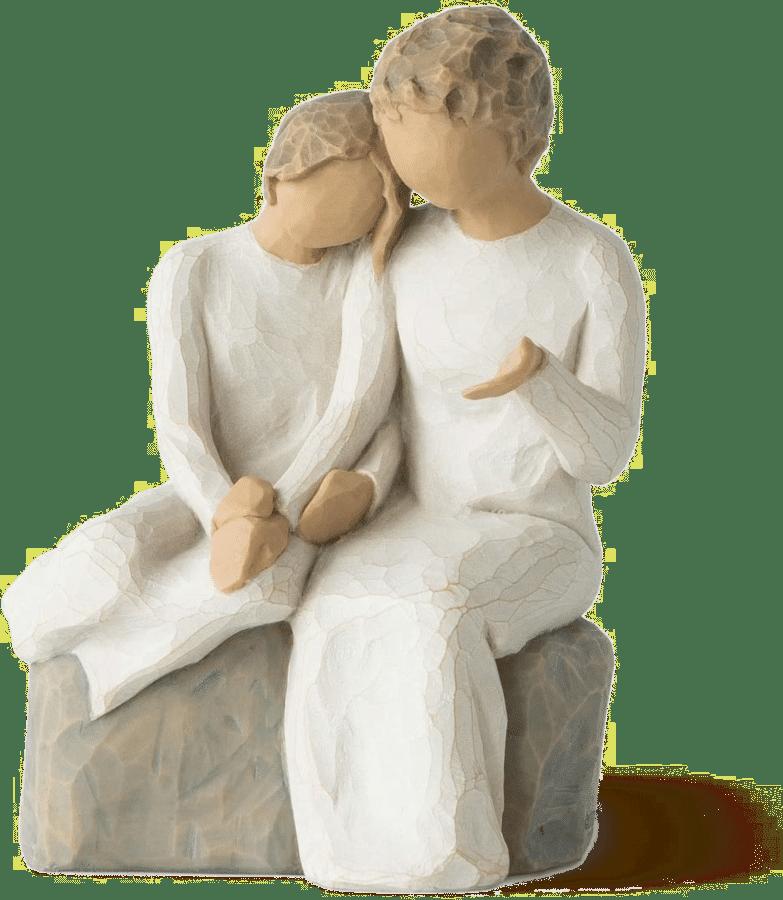 Figur Wollow Tree Grossmutter - geschenk Oma