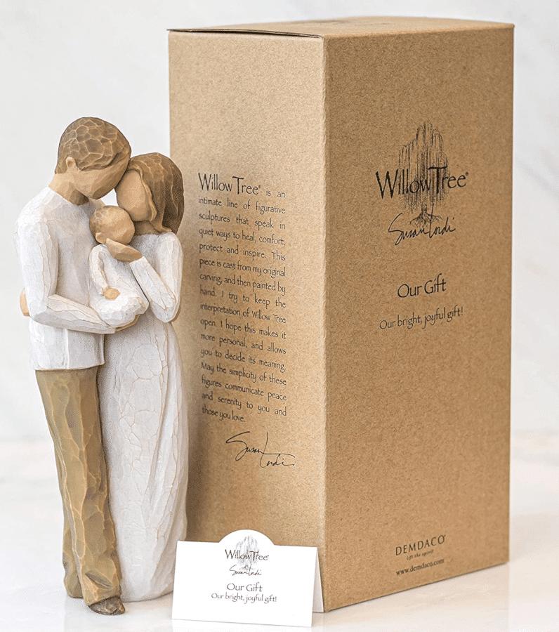 Geschenk Eltern - Figur Willow Tree