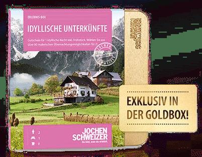 Erlebnis-Geschenkbox für zwei - Jochen Schweitzer