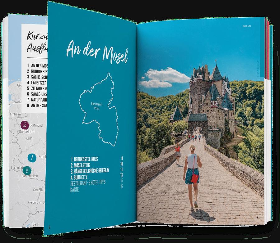 47 Ausflugsziele Deutschland - Geschenk für Oma
