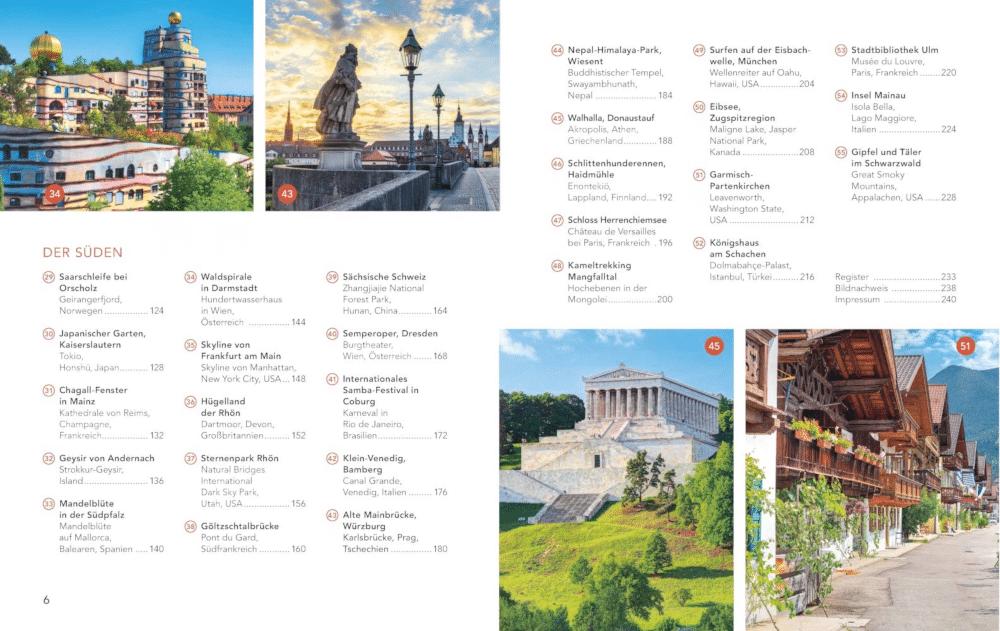 Reiseführer Deutschland - Reisebuch Hiergeblieben