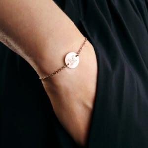 Armband mit Gravur - Geschenk für Oma