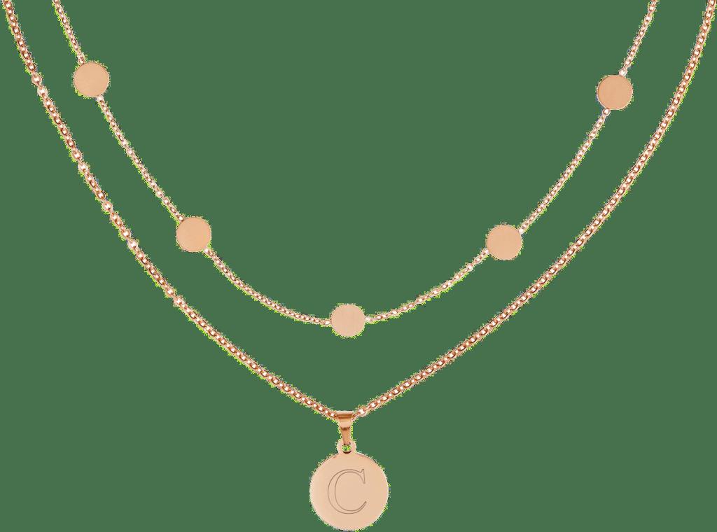 Halskette mit Gravur für Oma