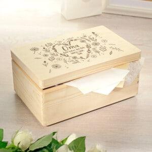 Personalisierte Erinnerungsbox - Geschenk für Oma