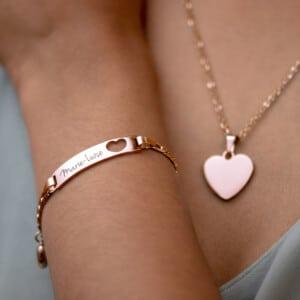 personalisierter Schmuck - Armband mit Gravur