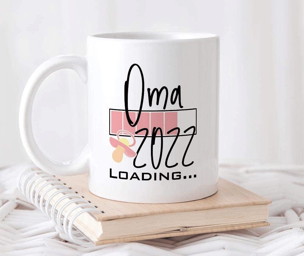 Geschenk werdende Oma - Tasse Loading