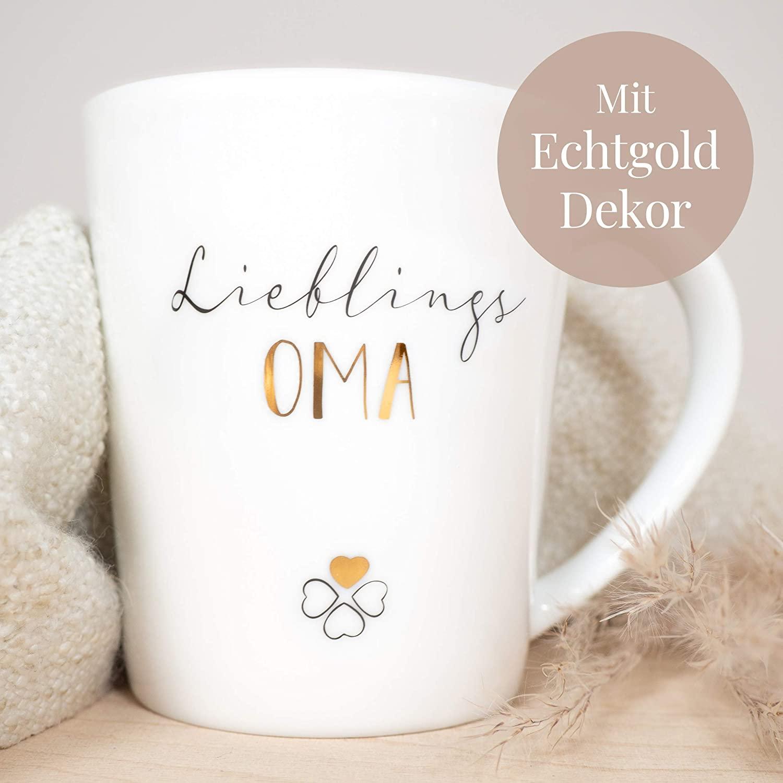 Geschenkidee für Oma - Tasse Lieblings Oma